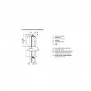 Клапан КЛОП-1(90)-НО-Ф560-ЭМ(220)