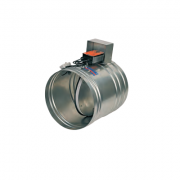 Клапан КЛОП-1(90)-НО-Ф450-МВ(220)