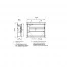 Клапан КЛАД-2-С-550х440-МВ(220)