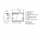Клапан КЛАД-3-К-550х440-ЭМ(220)