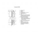 Клапан КЛОП-2(90)-НО-МВ(220)-250х250-К