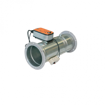 Клапан КЛОП-2(120)-НО-Ф200-МВ(220)