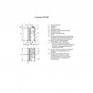 Клапан КЛОП-2(120)-НО-МВ(220)-300х300-К