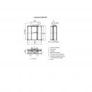 Клапан КЛОП-3(90)-НО-МВ(220)-1200х800-К
