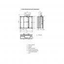 Клапан КЛОП-3(120)-НО-ЭМ(220)-200х200-К