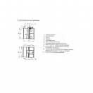 Клапан КОМ-1(120)-НО-ЭМ(220)-1400х600