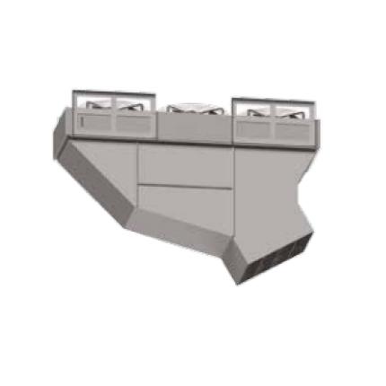 Тепловая завеса КЭВ-П8082A