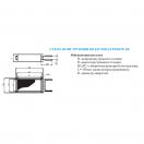 Воздухонагреватель водяной 3-х рядный VKH-W 500х300/3