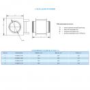 Воздухонагреватель водяной VKHR-W 250