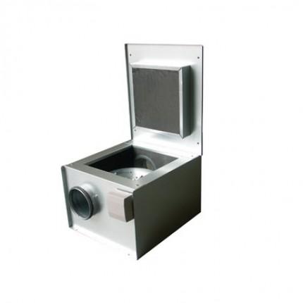 Вентилятор в шумоизолированном корпусе для круглых каналов KVK 355