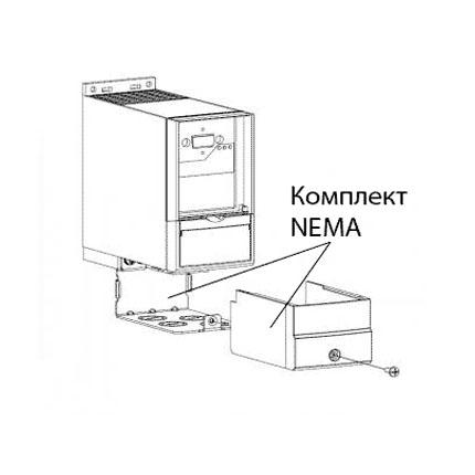 Комплект NEMA1-M3 (для FC-051 3,0-7,5 кВт) №132B0105